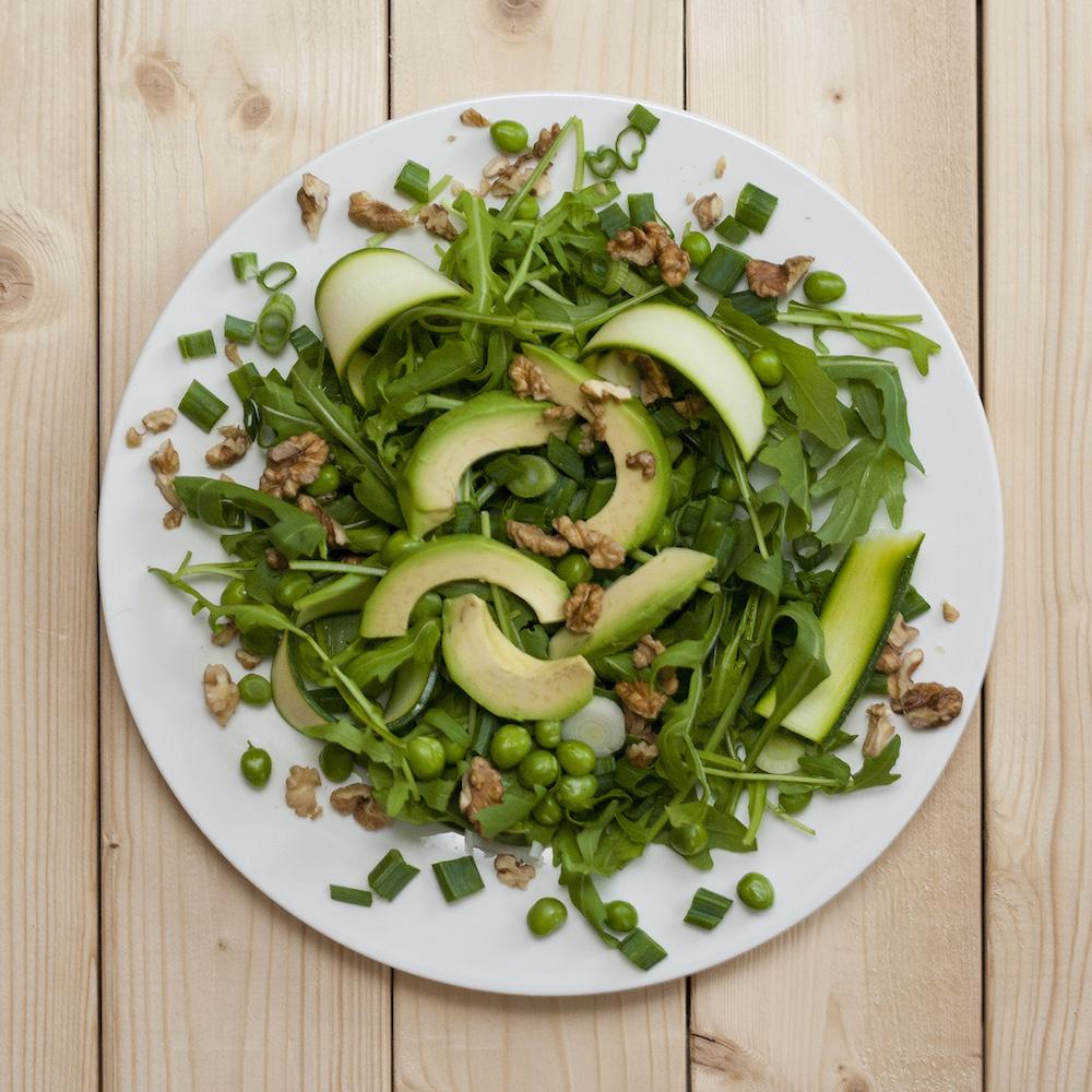 Salata s graskom i avokadom_1